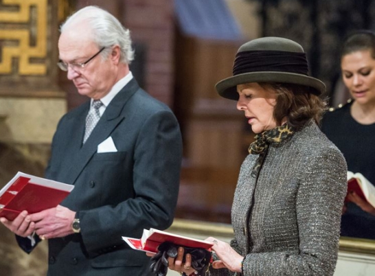 Queen Silvia, February 1, 2015 | Royal Hats