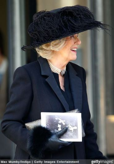 Duchess of Cornwall, February 4, 2015 in Philip Treacy | Royal Hats