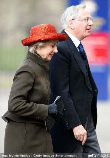Duchess of Gloucester, February 3, 2015 | Royal Hats