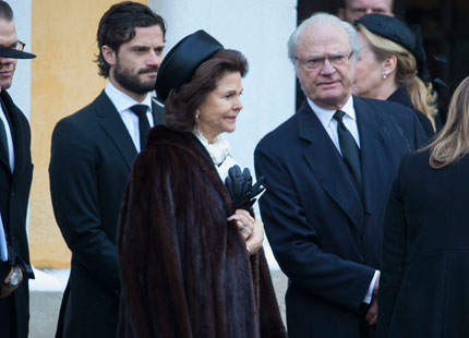 Queen Silvia, February 3, 2015 | Royal Hats