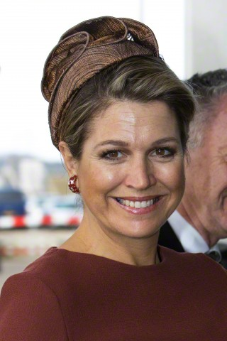Queen Máxima, February 5, 2015 in Fabienne Delvigne | Royal Hats