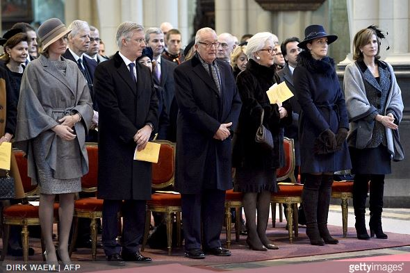 Belgian Royal Family, February 12, 2015 | Royal Hats