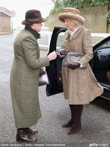 Duchess of Cornwall, February 13, 2015 in Lock & Co. | Royal Hats