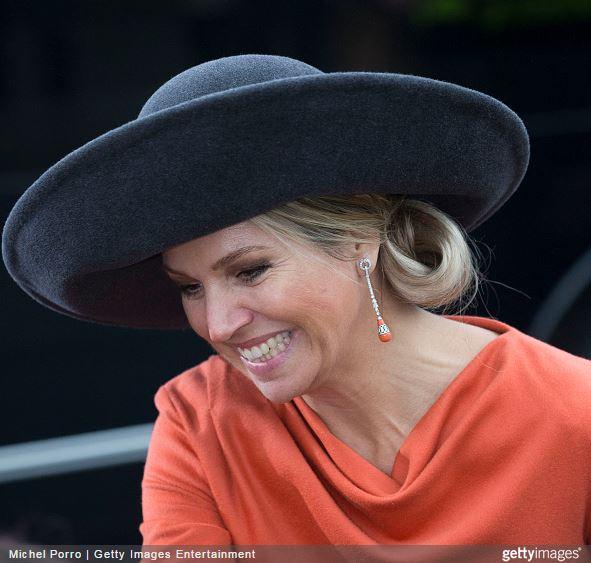 Queen Máxima, Feburary 17, 2015 in Fabienne Delvigne | Royal Hats