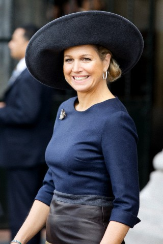 Queen Máxima, April 5, 2014 in Fabienne Delvigne | Royal Hats