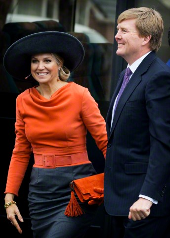 Queen Máxima, Feburary 17, 2015 in Fabienne Delvigne | Royal Hats