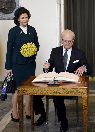 Queen Silvia, March 3, 2015 | Royal Hats
