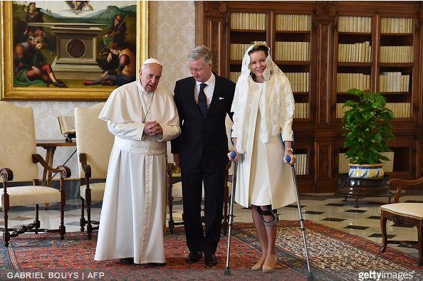 Queen Mathilde, March 9, 2015 | Royal Hats