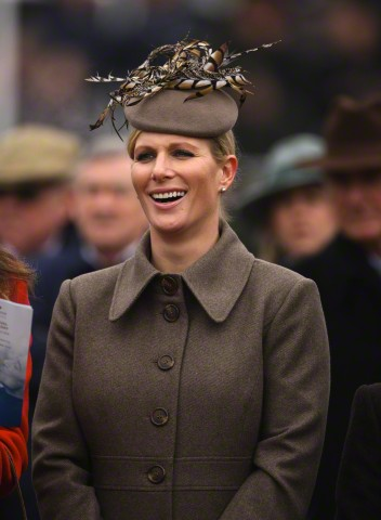 Zara Phillips, March 13, 2015 in Rosie Olivia | Royal Hats