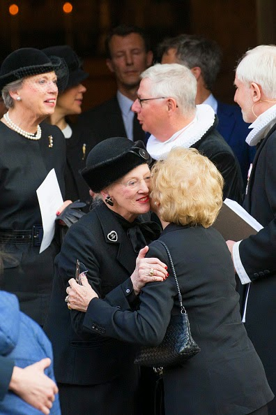 Queen Margrethe and Princess Benedikte, March 17, 2015 | Royal Hats