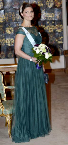 Crown Princess Victoria, March 20, 2015 in Jenny Packham | Royal Hats