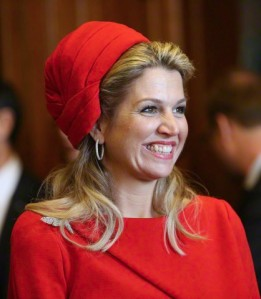 Queen Máxima, March 20, 2015 in Fabienne Delvigne | Royal Hats