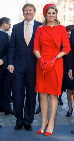 Queen Máxima, March 20, 2015 in Fabienne Delvigne | Royal Hats