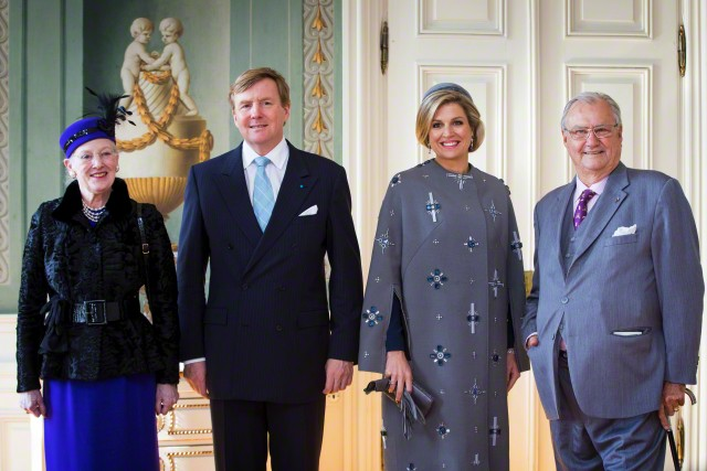 Dutch State Visit to Denmark March 17, 2015 | Royal Hats