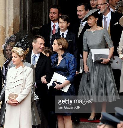 Viscountess Linley, Countess of Ulster and Lady Sarah Chatto, April 29, 2011 | Royal Hats
