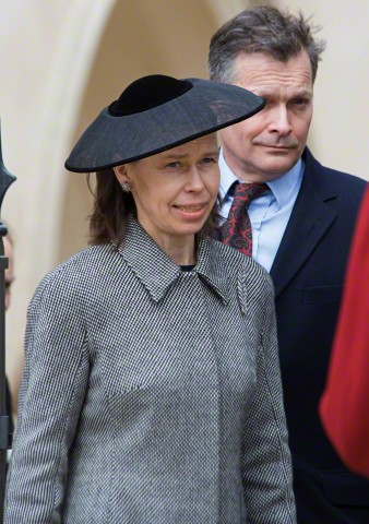 Lady Sarah Chatto, April 5, 2015 in Stephen Jones | Royal Hats