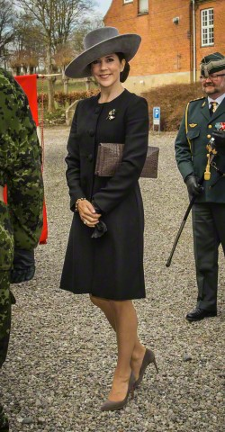 Crown Princess Mary, April 10, 2015 in Susanne Juul | Royal Hats