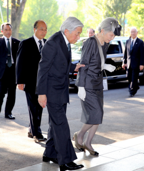 Empress Michiko, April 27, 2015 | Royal Hats