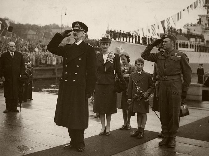 King Haakon and the Norwegian Royal Family, June 7, 1945 | Royal Hats