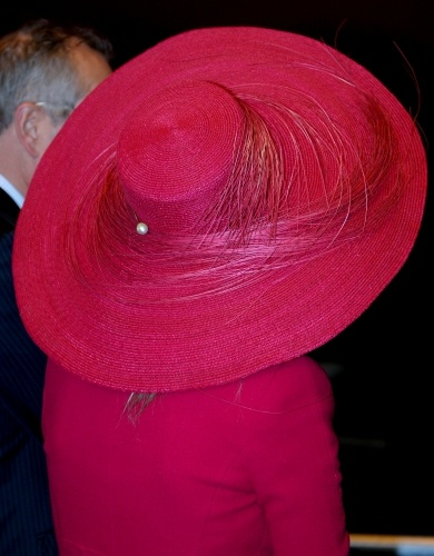 Princess Máxima, April 24, 2009 in Fabienne Delvigne | Royal Hats