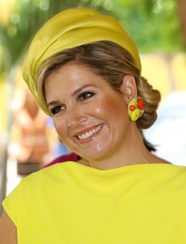 Queen Máxima, April 30, 2015 in Fabienne Delvigne | Royal Hats