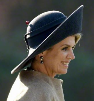 Queen Máxima, March 19, 2015 in Fabienne Delvigne | Royal Hats