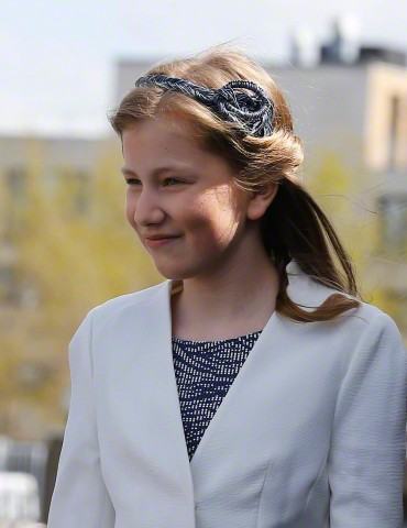 Princess Elisabeth, May 6, 2015 in Fabienne Delvigne | Royal Hats
