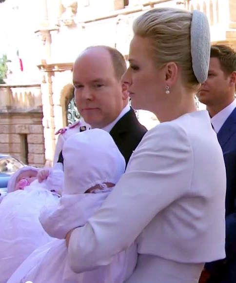 Princess Charlene, May 10, 2015 in Dior | Royal Hats