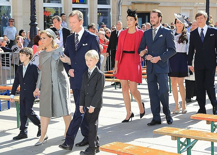 Luxembourg Royal Family, May 10, 2015 | Royal Hats