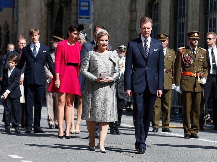 Grand Duchess Maria Teresa, May 10, 2015 | Royal Hats