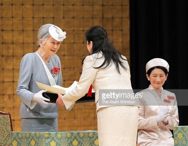 Empress Michiko, May 13, 2015 | Royal Hats