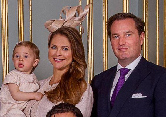 Princess Madeleine, May 17, 2015 in Philip Treacy | Royal Hats