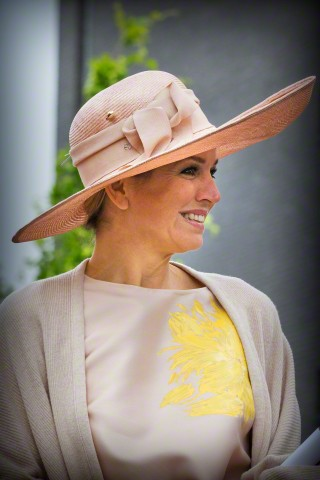 Queen Máxima, May 19, 2015 in Fabienne Delvigne | Royal Hats