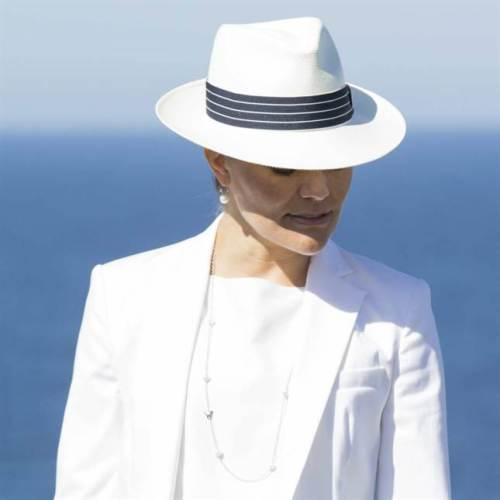 Crown Princess Victoria, May 27, 2015 in Borsalino | Royal Hats
