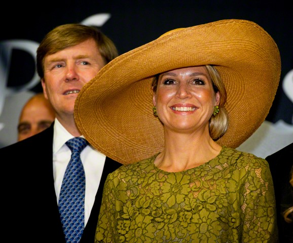 Queen Máxima, May 28, 2015 in Fabienne Delvigne | Royal Hats