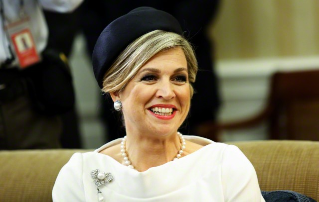Queen Máxima, June 1, 2015 in Fabienne Delvigne | Royal Hats