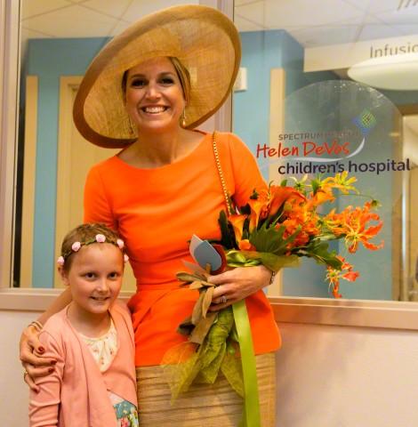 Queen Máxima, June 2, 2015 in Fabienne Delvigne | Royal Hats