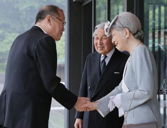 Empress Michiko, June 3, 2015 | Royal Hats