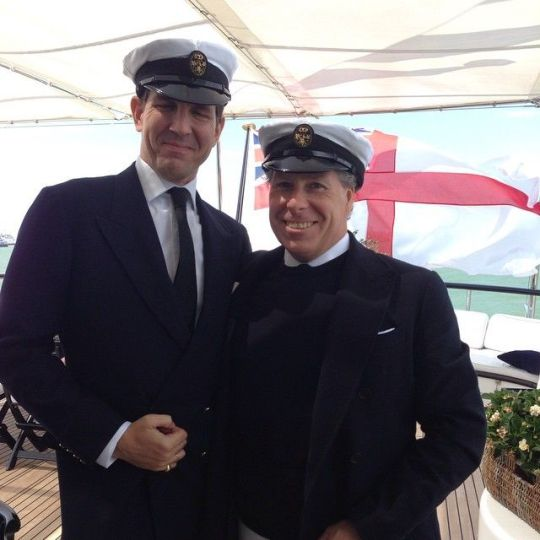 Prince Pavlos and Viscount Linley, June 5, 2015 | Royal Hats
