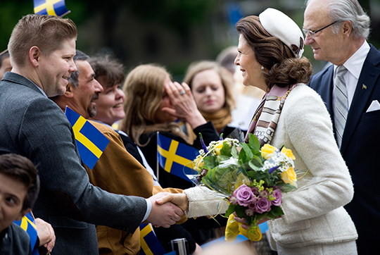 Queen Silvia, June 6, 2015 | Royal Hats