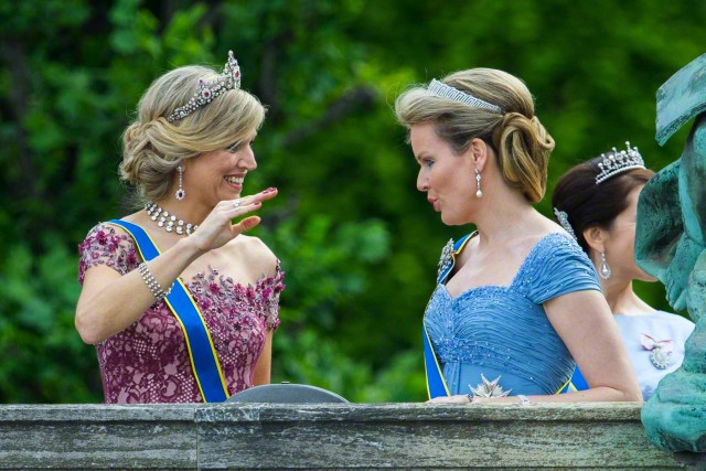 Queen Máxima and Queen Mathilde, June 13, 2015 | Royal Hats