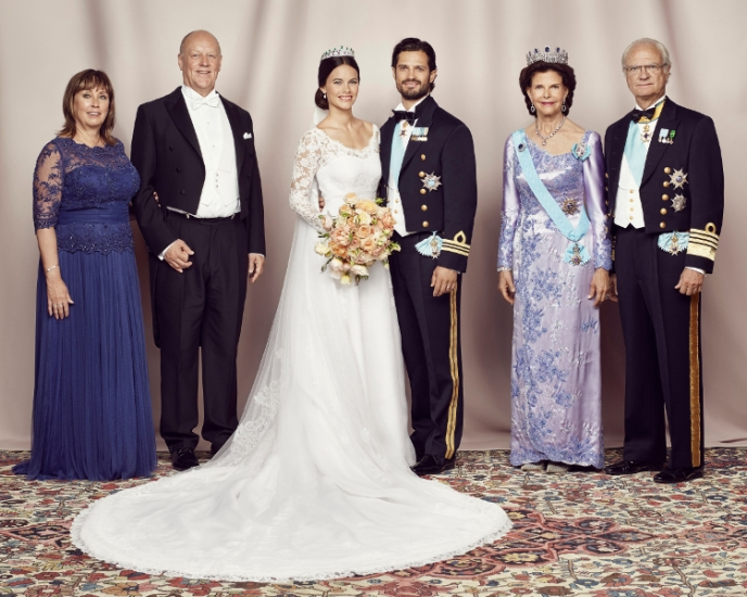 Prince Carl Philip and Princess Sofia, June 13, 2015