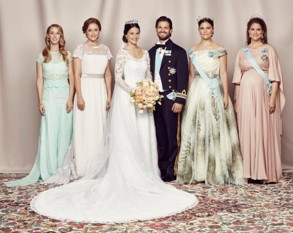 Prince Carl Philip and Princess Sofia, June 13, 2015