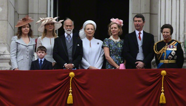 Zenouska Mowatt,  Lady Gabriella Windsor and Julia Ogilvy, June 13, 2015 | Royal Hats