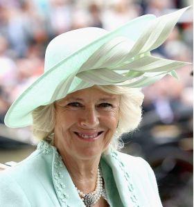 Duchess of Cornwall in Philip Treacy, June 16, 2015 | Royal Hats