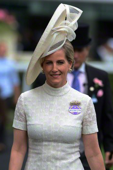 Countess of Wessex, June 16, 2015 in Jane Taylor | Royal Hats