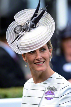 Countess of Wessex, June 17, 2015 in Jane Taylor | Royal Hats