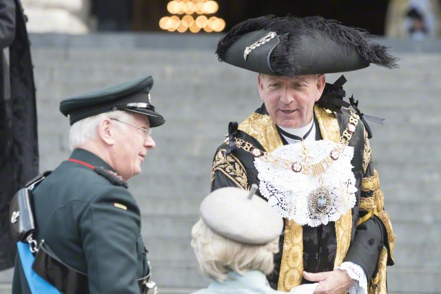 Battle of Waterloo service attended by Boris Johnson and Alan Yarrow