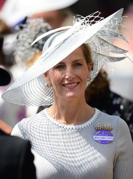 Countess of Wessex, June 18, 2015 in Jane Taylor | Royal Hats