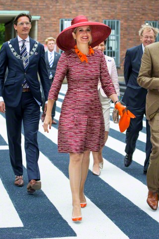 Queen Máxima, June 19, 2015 in Fabienne Delvigne   Royal Hats